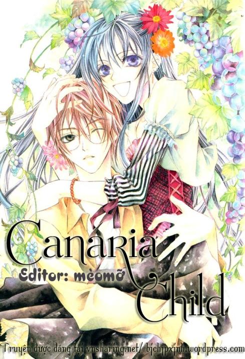 Canaria Child - Cover